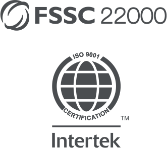 FSCC 22000, Intertek ISO 9001 Certification